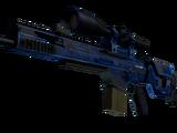 StatTrak™ SCAR-20 | Blueprint (Battle-Scarred)