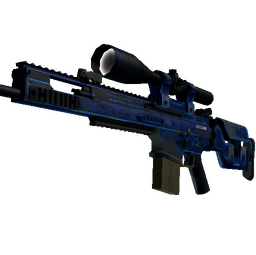 SCAR-20 | Blueprint (Battle-Scarred)