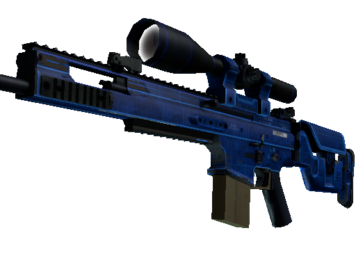 SCAR-20 | Blueprint Well-Worn
