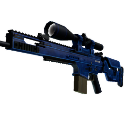 StatTrak™ SCAR-20 | Blueprint (Well-Worn)