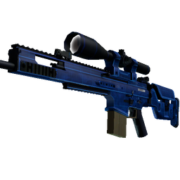 free csgo skin StatTrak™ SCAR-20 | Blueprint (Factory New)