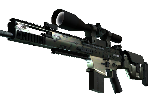 SCAR-20 | Army Sheen Minimal Wear
