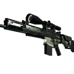 SCAR-20 | Army Sheen (Minimal Wear)
