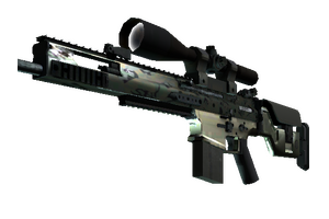 Scar 20 Army Sheen Minimal Wear