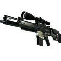 SCAR-20 | Army Sheen <br>(Minimal Wear)