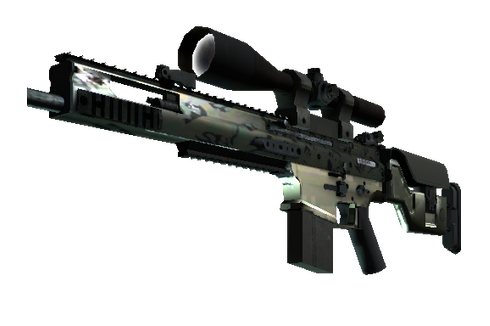 Buy SCAR-20 | Army Sheen (Minimal Wear)