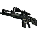 SCAR-20 | Army Sheen <br>(Field-Tested)