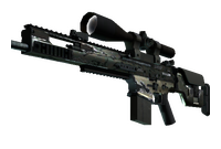 SCAR-20 | Army Sheen (Field-Tested)