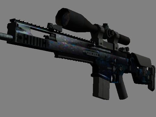 Скин SCAR-20 | Грот (Закаленное в боях)