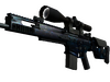 StatTrak™ SCAR-20 | Grotto (Well-Worn)