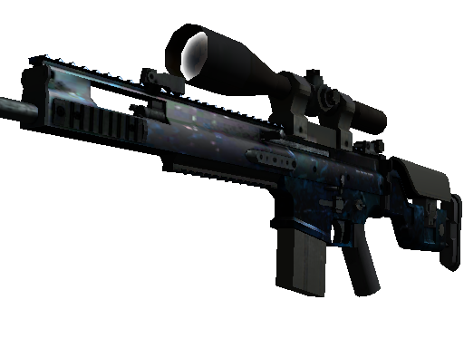 StatTrak™ SCAR-20 | Grotto (Field-Tested)