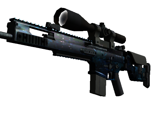 StatTrak™ SCAR-20 | Grotto (Battle-Scarred)