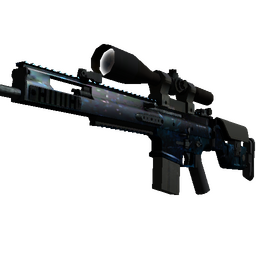 StatTrak™ SCAR-20 | Grotto (Factory New)