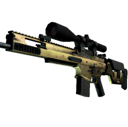 SCAR-20 | Brass (Field-Tested)