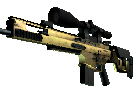 SCAR-20 | Brass (Minimal Wear)