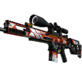 SCAR-20 | Bloodsport <br>(Well-Worn)