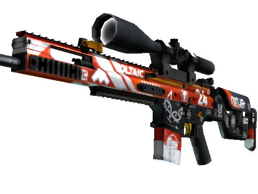 StatTrak™ SCAR-20 | Bloodsport (Factory New)