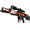 StatTrak™ SCAR-20 | Bloodsport <br>(Factory New)