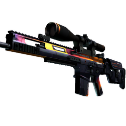 StatTrak™ SCAR-20 | Enforcer (Well-Worn)