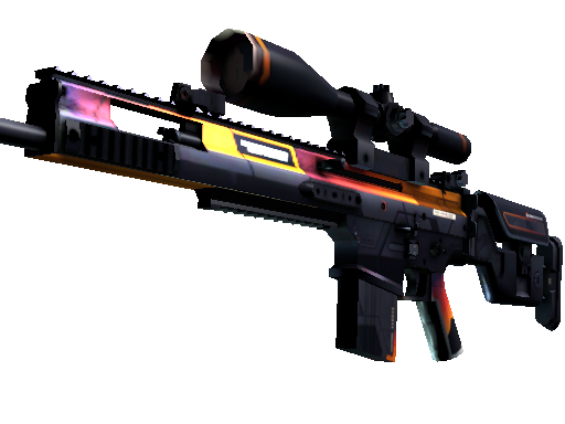StatTrak™ SCAR-20 | Enforcer (Battle-Scarred)