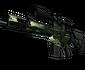 SCAR-20 | Green Marine (Battle-Scarred)