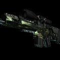 SCAR-20 | Green Marine <br>(Battle-Scarred)