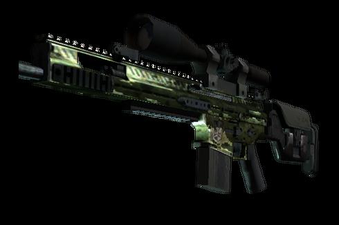StatTrak™ SCAR-20 | Green Marine (Battle-Scarred) Prices