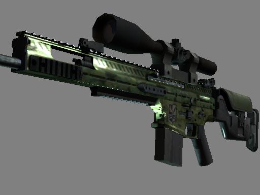 SCAR-20 | Green Marine