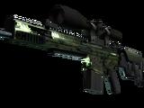 StatTrak™ SCAR-20   Green Marine (Well-Worn)