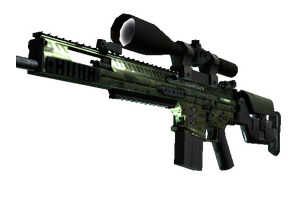 Stattrak Trade Scar 20 Green Marine Field Tested