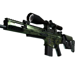 SCAR-20 | Green Marine (Minimal Wear)