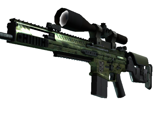 SCAR-20 | Green Marine Factory New