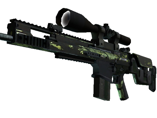 SCAR-20 | Outbreak Battle-Scarred