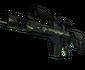 StatTrak™ SCAR-20 | Outbreak (Battle-Scarred)