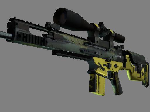 SCAR-20 | Вихрь джунглей (Поношенное)