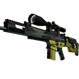 StatTrak™ SCAR-20 | Jungle Slipstream (Well-Worn)