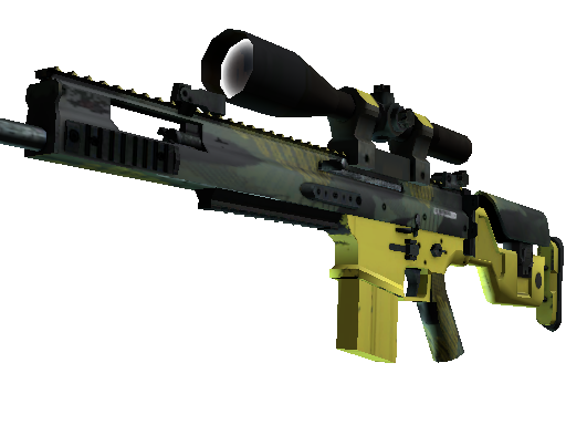 SCAR-20 | Jungle Slipstream Minimal Wear