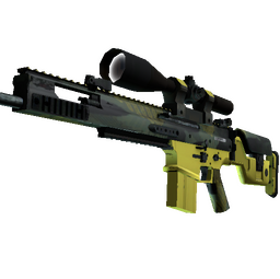 SCAR-20 | Jungle Slipstream (Factory New)
