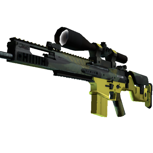 SCAR-20 | Jungle Slipstream - gocase.pro