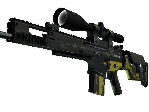 SCAR-20 | Jungle Slipstream Battle-Scarred