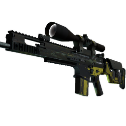 SCAR-20 | Jungle Slipstream (Battle-Scarred)