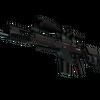 SCAR-20   Crimson Web <br>(Battle-Scarred)