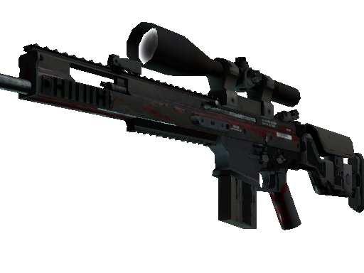SCAR-20 | Crimson Web Battle-Scarred