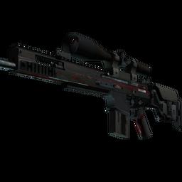 StatTrak™ SCAR-20 | Crimson Web (Battle-Scarred)
