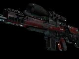 SCAR-20 | Crimson Web (Field-Tested)