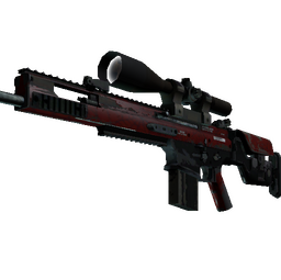 SCAR-20 | Crimson Web (Field-Tested)