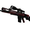 StatTrak™ SCAR-20 | Crimson Web <br>(Factory New)