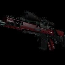 StatTrak™ SCAR-20 | Crimson Web (Minimal Wear)