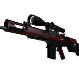 StatTrak™ SCAR-20 | Crimson Web (Factory New)