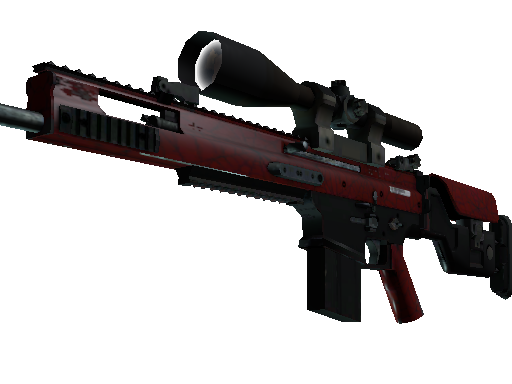 CS:GO Weapon 2 SCAR-20 Crimson Web